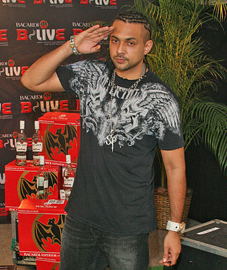 Sean Paul - Sean Paul at the B-Live concert in 2007.