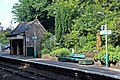 Seating and shelter, Chirk railway station (geograph 4024235).jpg