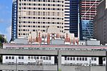 Seattle - Federal Office Building from a ferry at Colman Dock (WSF) 01.jpg