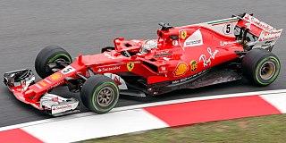 Ferrari Formula One car 2017