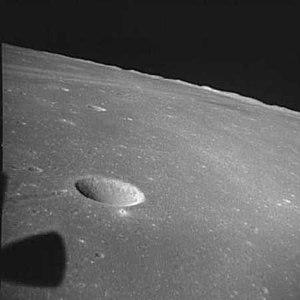 Secchi (lunar crater) - Image: Secchi K 4261