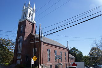 Newcastle, Maine - Second Congregational Church