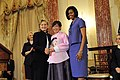 Secretary Clinton With First Lady Michelle Obama and Honoree Dr. Lee Ae-ran of the Republic of Korea (4425832536).jpg