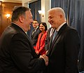 Secretary Pompeo Participates in a Bilat with PM Dusko Markovic and FM Srdjan Darmanovic (48840818698).jpg