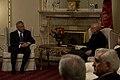 Secretary of Defense, Chuck Hagel, meets with Afghan president Hamid Karzai (2).jpg
