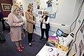 Secretary of State Karen Bradley MP visits Shankill Women's Centre (39807996514).jpg