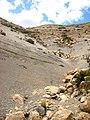 Sedimentitas de la formacion Agrio (Cretácico inferior) en el cerro Marucho.jpg
