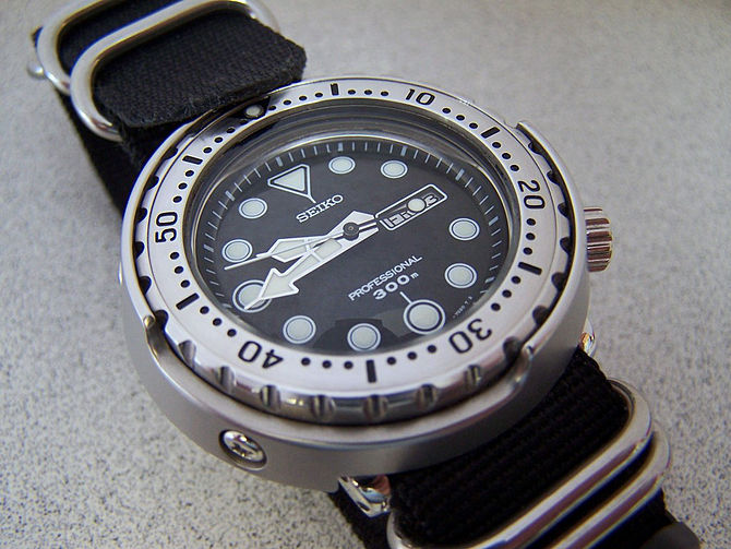 English: Seiko SBBN007 Professional Diver's 30...
