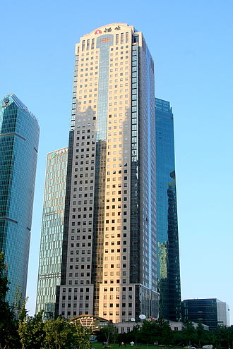 Hang Seng Bank Tower - The building's exterior in 2012