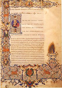 Seneca the Younger, Letters, Florence, Plut. 45.33.jpg
