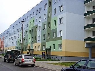 Senftenberg - Image: Senftenberg rekonsruiert