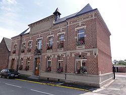 Sepmeries (Nord,Fr) mairie.JPG