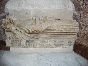 Sancho Alfonso, 1st Count of Alburquerque - Sancho's tomb in the Cathedral of Burgos