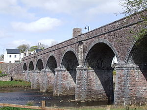 Newport, County Mayo - Image: Seven Arches Bridge Newport