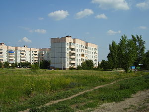 Ostrogozhsk - A residential district in Ostrogozhsk