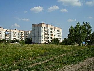 Ostrogozhsk - A residential district in Ostrogozhsk