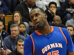 Shabazz Muhammad - Muhammad with Bishop Gorman High School in 2011.