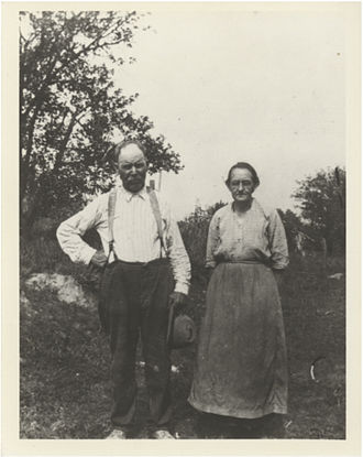 Batchtown, Illinois - Charles and Fanny Wilson Shannon