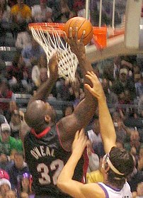 w:Shaquille O'Neal of the w:Miami Heat.