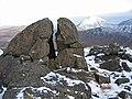 Shattered boulder on Sgurr nan Gillean - geograph.org.uk - 618629.jpg