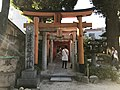 Shimekake Inari Shrine in Kushida Shrine.jpg