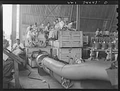 Shipyard workers on their lunch hour 8d39894v.jpg