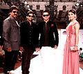 Shishupal Singh, Sharad Patel, Vivek Oberoi, Shalika at Inaugural ceremony of Rajasthan Fashion Week in Jaipur' (3).jpg