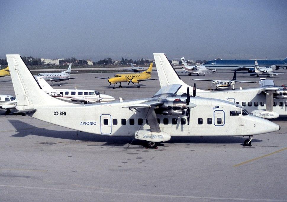 Short 360-300, Avionic Air Application AN0909586