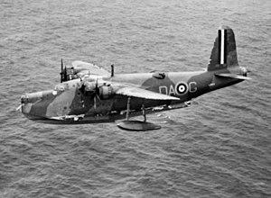 No. 210 Squadron RAF - A 210 Squadron Sunderland I escorting convoy TC.6, 31 July 1940.