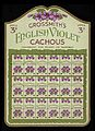 Show card for Grossmith's English Violet Cacous Wellcome L0040560.jpg