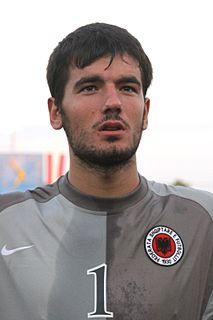 Shpëtim Moçka Albanian footballer