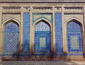 Shrine of Jalaluddin Bukhari, glazed tilework 2010.jpg