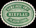 Siegelmarke Gemeinde-Amt Hieflau W0344492.jpg