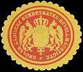 Siegelmarke Gr. Badische Bundesraths-Bevollmächtigte W0393816.jpg