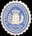 Siegelmarke Königlich Bayerische Verwaltung der Gefangenanstalt St. Georgen - Bayreuth W0237655.jpg