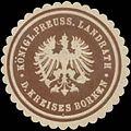Siegelmarke K.Pr. Landrath des Kreises Borken W0391061.jpg