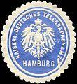 Siegelmarke Kaiserlich Deutsches Telegraphenamt Hamburg W0228863.jpg