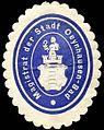 Siegelmarke Magistrat der Stadt Oeynhausen - Bad W0240368.jpg