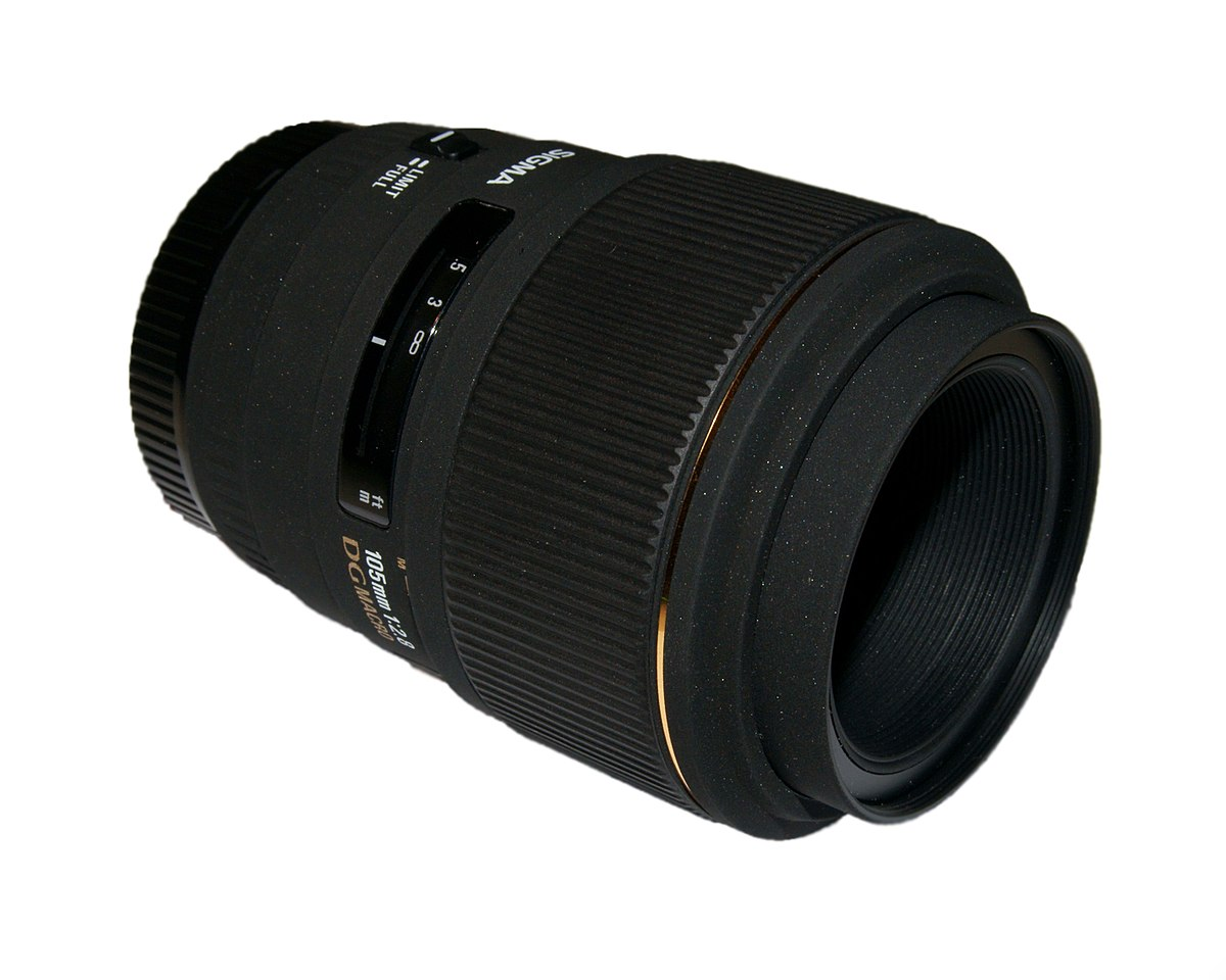Sigma 105mm f/2.8 EX DG lens - Wikipedia