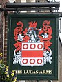 Sign for The Lucas Arms, Gray's Inn Road - Cromer Street, WC1 - geograph.org.uk - 1223726.jpg