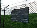 Sign on Ballynacor Lane - geograph.org.uk - 1591517.jpg