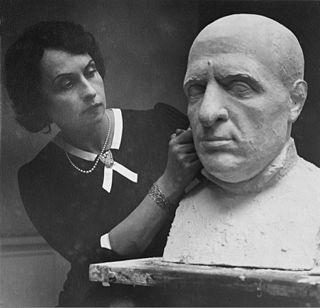 Sigri Welhaven Norwegian sculptor