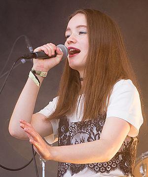 Sigrid (singer) - Sigrid performing in 2016