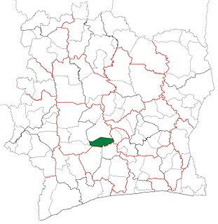 Sinfra Department Department in Sassandra-Marahoué, Ivory Coast
