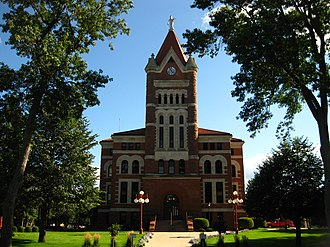 Sioux County Courthouse (Iowa) - Image: Sioux county ia courthouse 2