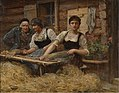Sir Hubert von Herkomer - Carding Wool - B2015.18.14 - Yale Center for British Art.jpg