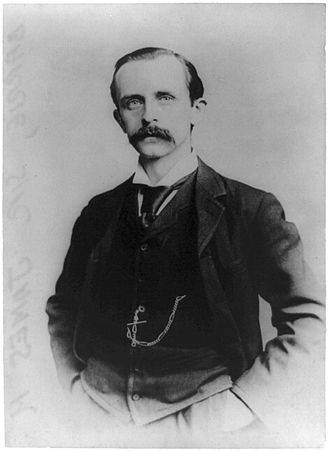 J. M. Barrie - Sir James Barrie, around 1895.
