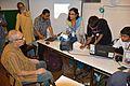 Sirshendu Mukhopadhyay at Wikipedia Booth - Apeejay Bangla Sahitya Utsav - Kolkata 2015-10-10 5160.JPG