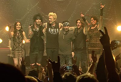Picture of a band or musician: Sixx:A.M.