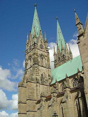 Skara Cathedral - Image: Skara domkyrka 2004